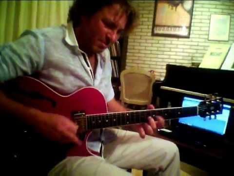 Howard Roberts Gibson ,Heritage Colonial,BLUES by Valentino Doulias