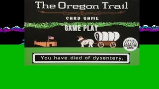 The Oregon Trail Caed Game: Game Play 1