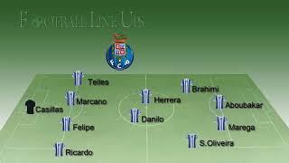 ✅AS Monaco 0-3 FC Porto Champions League 2017/2018 - Porto Lineup