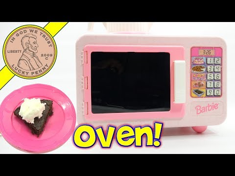 25 Year Old Brownies! Testing A Barbie Party Bake With Me Oven
