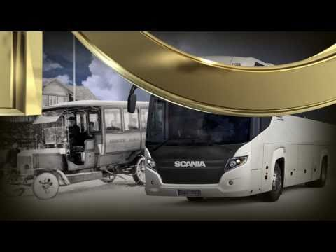 Scania celebrates 100 years as bus manufacturer