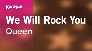 Karaoke We Will Rock You Queen