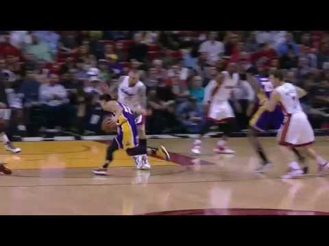 Jeremy Lin's Offense & Defense Highlights 2015-03-05 Lakers VS Heat 1080P