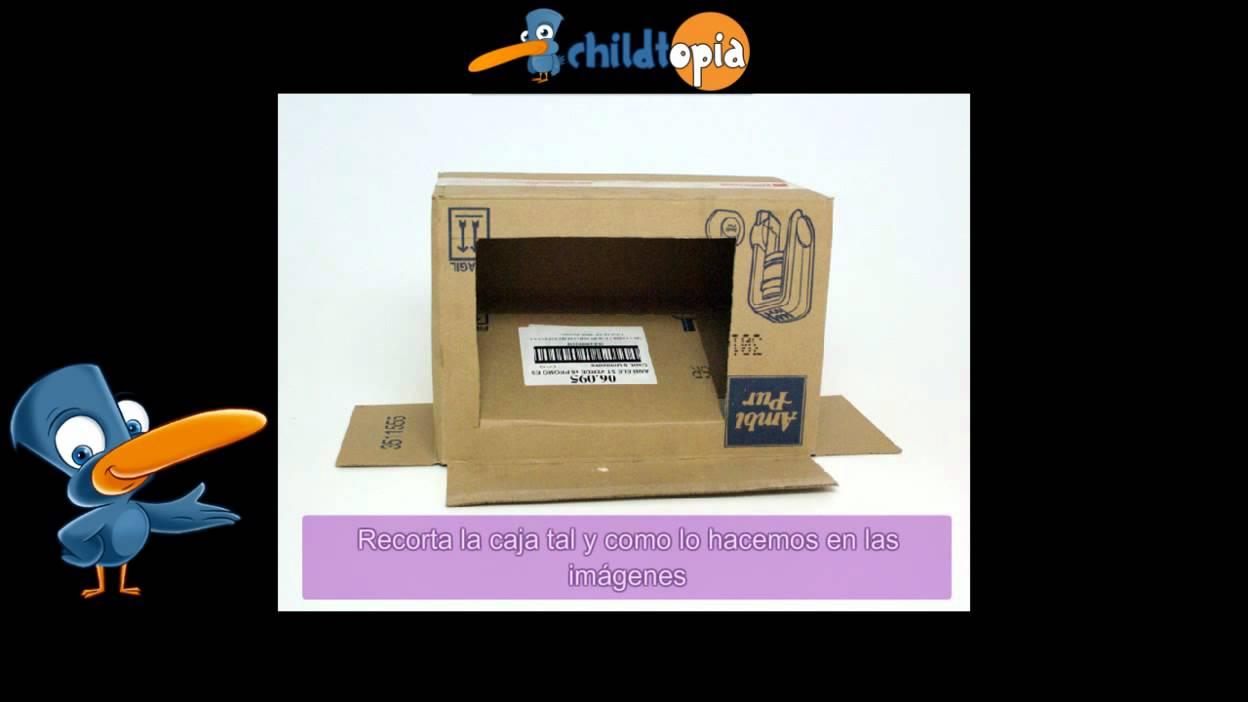 Manualidades Con Cajas De Carton Como Hacer Una Computadora