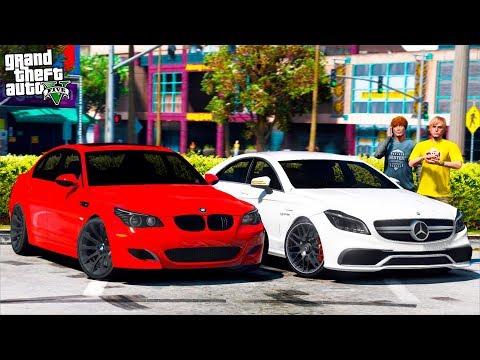 РЕАЛЬНАЯ ЖИЗНЬ В GTA 5 - КУПИЛИ Б/У BMW M5 E60 И MERCEDES CLS63 AMG! ЛЮТЫЕ ШАШКИ ПО ТРАССЕ! 🌊ВОТЕР