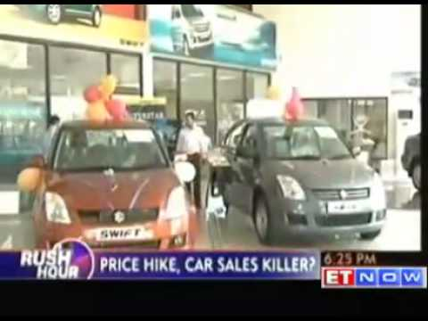 Petrol price hike - Impact on car and bike sales
