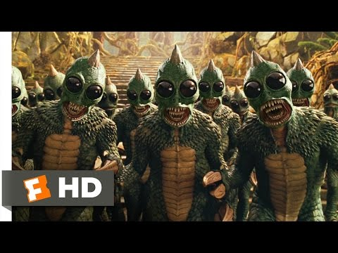 Land of the Lost (5/10) Movie CLIP - Beware of Sleestak (2009) HD