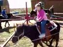 My girl's pony ride