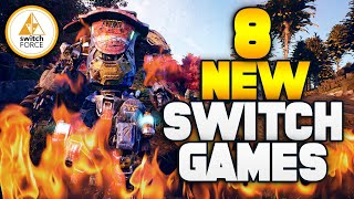 8 EPIC New Switch Games! Best Lineup EVER...!? (New Nintendo Switch Games)