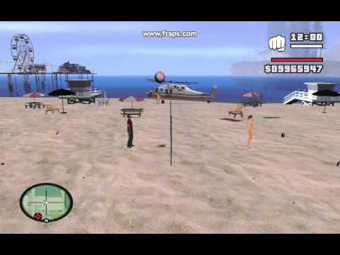 GTA Volleyball Mod for San Andreas