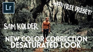 NEW SAM KOLDER Lightroom Editing Process! (with FREE preset) - Adobe Lightroom Tutorial