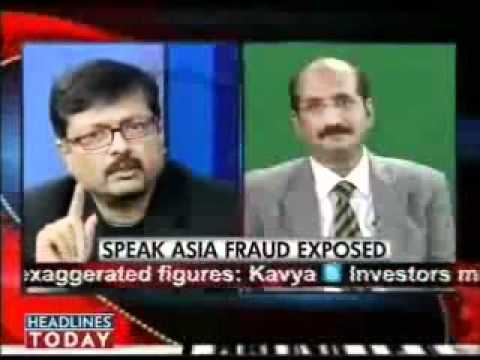Speak Asia Press Conference Live on Headlines Today (CEO Manoj Kumar)www.joinusspeakasia.com