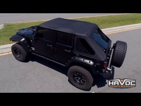 Bestop Trektop Replacement Soft Top Review - HavocOffroad.com