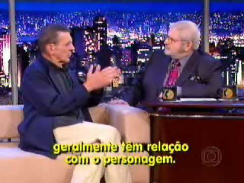 Entrevista de Leonard Nimoy (Sr. Spock) no Programa do J - Parte 1