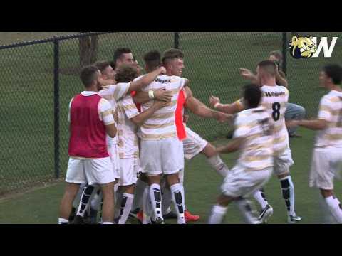 2015 Wingate Men's Soccer - Highlights - Sept. 3 vs. Barton