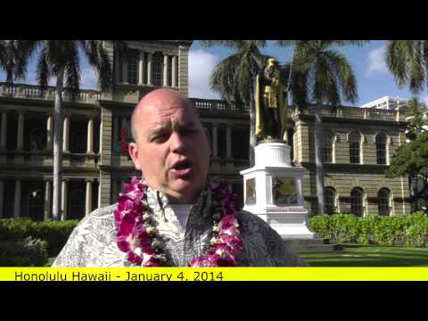 [BODY LANGUAGE] of King Kamehameha statue Honolulu - Scott Sylvan Bell