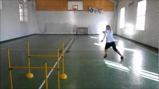 Functional Tennis - Explosive power and situation drill