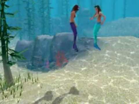 Русалки в «Симс 3 Райские острова» - DaraSims com