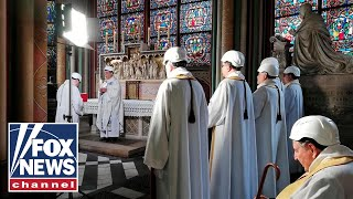 Notre Dame cathedral holds first mass since fire