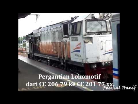 Trip Report KA Krakatau Pasar Senen - Kediri