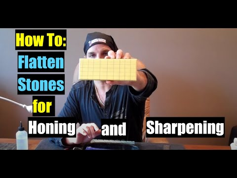 HOW TO HONE WATER STONE FLATTENING STRAIGHT RAZOR KNIFE SHARPENING Geofatboy Shavenation.com