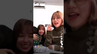 ( ThyAnh & LinhMễ ) Lần đầu live Instagram của Misthy =)))