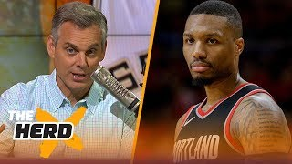 Colin Cowherd explains why the Lakers should consider trading for Damien Lillard | NBA | THE HERD