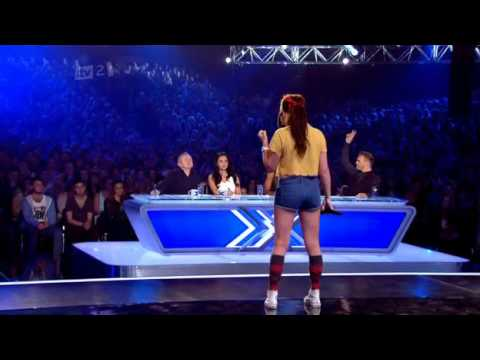 "The Xtra Factor - ""Girl v Boy"" Audition (X Factor Auditions 2011)"