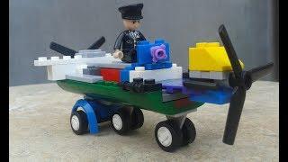 Lắp ghép lego phiên bản tự sáng tạo