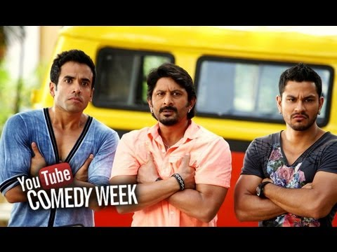 Arshad, Tusshar & Kunal Caught In A Scam - Comedy Sequence - Golmaal 3