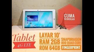Cuma 550rb Dapat Tablet 10inc 4G Fingerprint #Buka Paket Fujitsu F02F