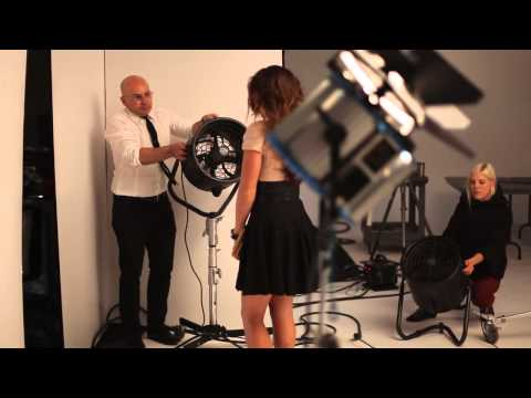 Danica Patrick photo shoot – Behind the scenes