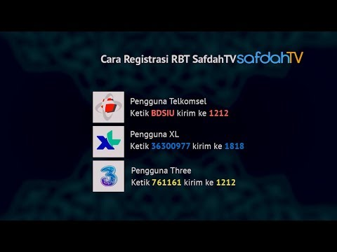 BERDAKWAH LEWAT RING BACK TONE SAFDAH TV - USTADZ BADRU SALAM, Lc
