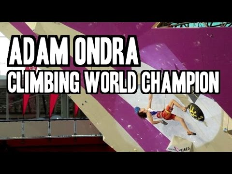Adam Ondra - Climbing World Champion