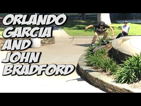 JOHN BRADFORD & ORLANDO GARCIA TAKE OVER !!! - A DAY WITH NKA