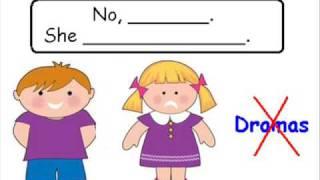 Teaching - Third person Simple Present  (Grammar)