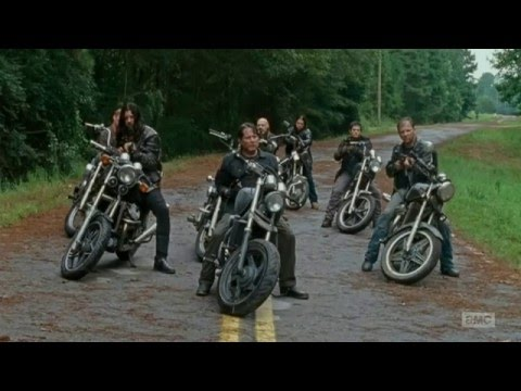 The Walking Dead 6x09 - Daryl kills Saviors