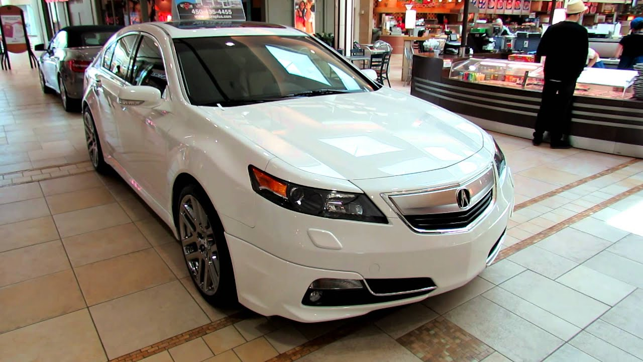 2012 Acura TL SH-AWD Exterior - Place Rosemere, Quebec, Canada - YouTube