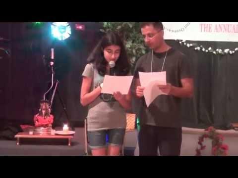 Riya recites Shri Ganapati Atharvashirsha - KOA Camp 2014 East...