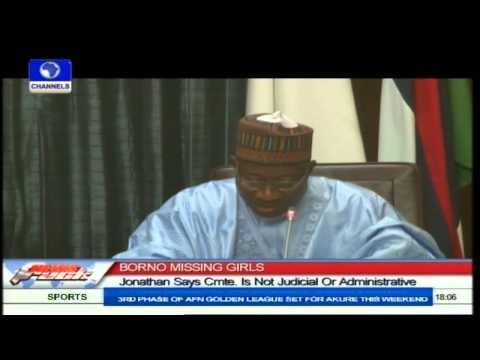 FG Inaugurates Fact-Finding Committee On Chibok Girls