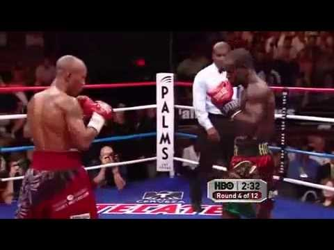Joshua Clottey vs Zab Judah