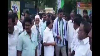 YSRCP MP Avinash Reddy Rally For Kadapa Steel Plant At Pulivendula