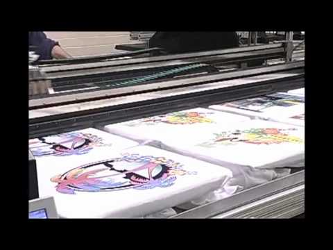 The Past & Future of Direct-to-Garment Printing