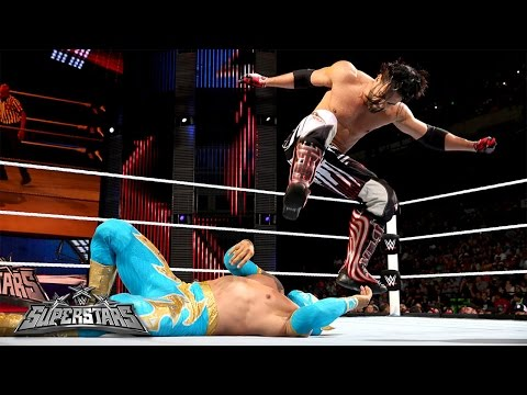 Sin Cara Vs. Justin Gabriel: Wwe Superstars, Sept. 11, 2014 video
