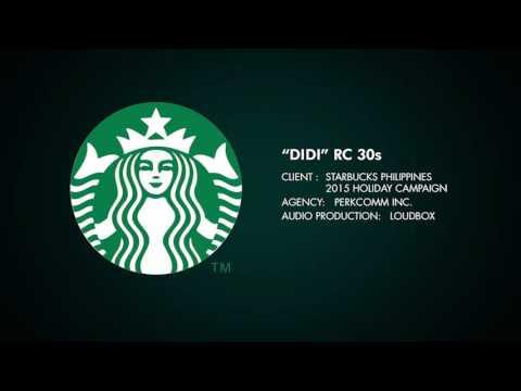 "Starbucks Philippines ""Didi"" radio commercial 30s"