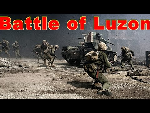 World War II: Philippines Campaign, Battle for Luzon HD