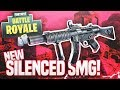 SILENCED SMG! - Fortnite Battle Royale SMG Only Challenge