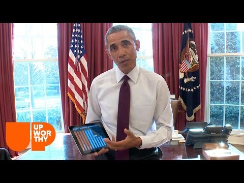 Upworthy Exclusive: President Obama Is Going To Help Make Your Internet Faster.