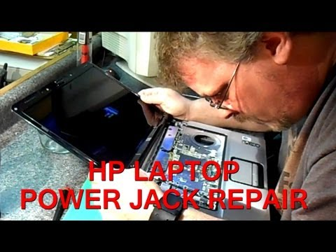HP Pavilion DV6000 Series Laptop Power Jack Repair