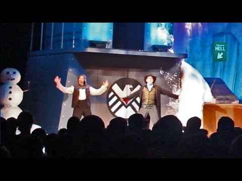 Frozen parody in The Hanging at Knott's Scary Farm 2014
